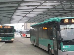 Der neue Busbahnhof Wetzlar, Platz für viele Buslinien aber bald nur noch für welche innerhalb der Stadt?