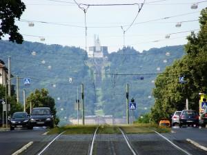 Kassel, Wilhelmshöher Allee, Schloss Wilhelmshöhe und Herkules