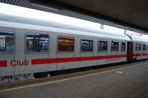 Der Clubwagen des Sonderzugs am 18.5. in Fulda