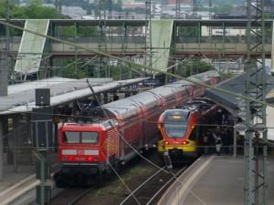 Züge Gießen geschnitten