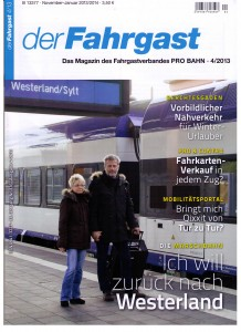 Fahrgast über FGZ 100 Titelseite