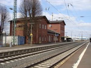 Der Bahnhof Lolar - hält hier künftig nur noch der Mittelhessenexpress und nicht mehr die Hessische Landesbahn? PRO BAHN hofft nicht.