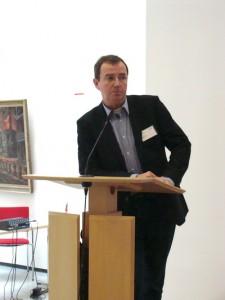 Der scheidende Bundespressesprecher und Stellv. Bundesvorsitzende von PRO BAHN e.V., Gerd Aschoff aus Göttingen.