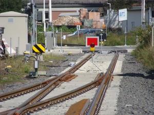 Bahnübergang Frankenberg 2014-09-06