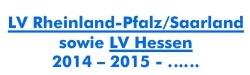 Schriftzug LV Rheinland-Pfalz Saarland sowie LV Hessen zugeschnitten
