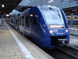 Vlexx-Zug nach Saarbrücken.