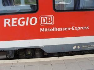 Logo Mittelhessen-Express und DB-Regio