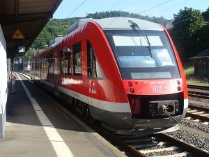 Sieg-Dill-Bahn in Dillenburg