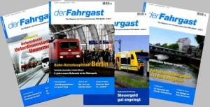 Fotos mit Titelseiten  - Der Fahrgast