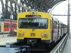 Ein Zug der Taunusbahn nach Brandoberndorf im Frankfurter Hbf. Wie lange kann der Zug noch bis in den Kernort der Gemeinde Waldsolms fahren? Oder stoppt der sanierungsbedürftige Tunnel die Fahrt?