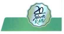 Logo 20 Jahre RMV zugeschnitten