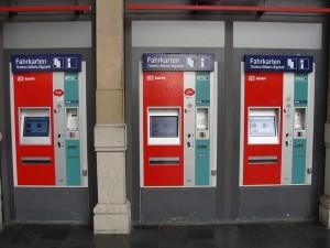Fahrkartenautomaten Frankfurt Hbf.