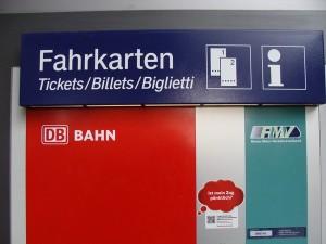 Fahrkartenautomatenteil