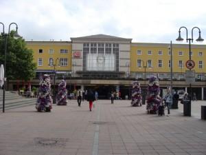 Bahnhof Fulda im Sommer 2015.