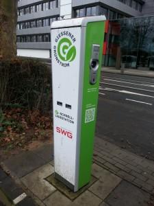 Strom-Tankstelle Stadtwerke Gießen