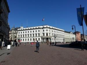 Der Hessische Landtag in Wiesbaden im alten nassauischen Stadtschloss.